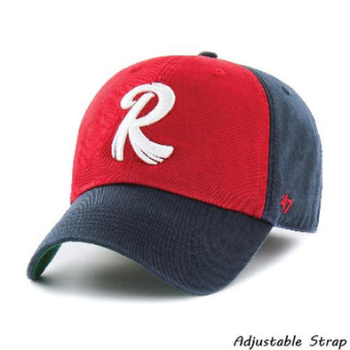 Reading Fightin Phils '47 Clean Up Alt. 2 Road Cap On-Field