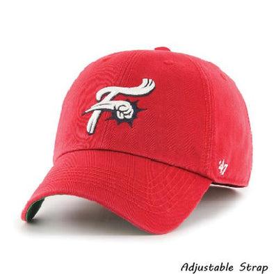 Reading Fightin Phils '47 Clean Up - Fightin Phils Red Alt. 1 Home