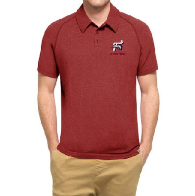 Reading Fightin Phils '47 Red F Fist Polo