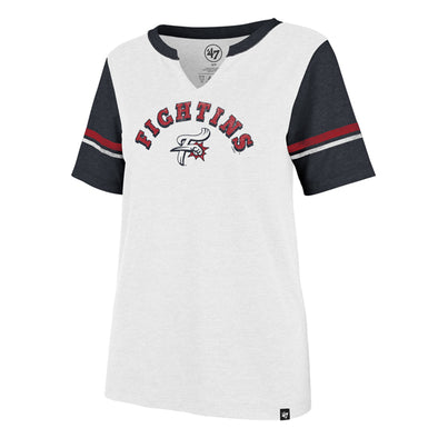 '47 Brand Raglan Fightins F-Fist Women's V-Neck