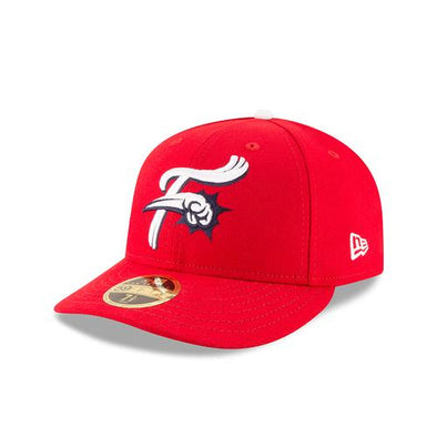 Reading Fightin Phils Alt. Red On-Field Low Profile Cap