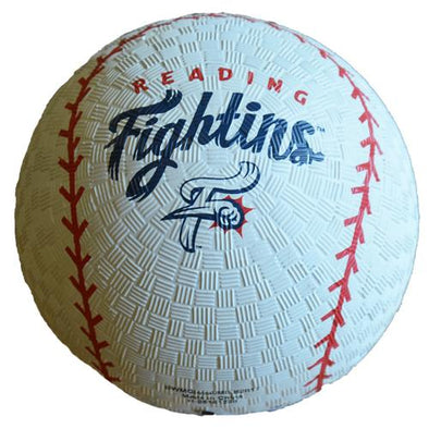 Reading Fightin Phils White Reading Fightins Playground Ball