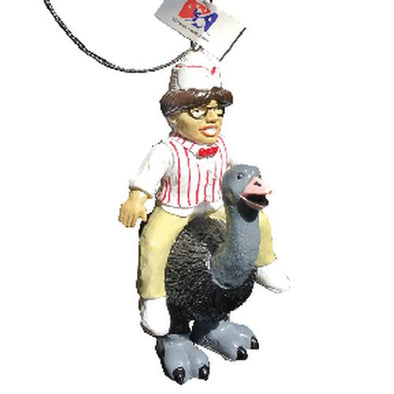 Reading Fightin Phils Crazy Hot Dog Vendor Ornament