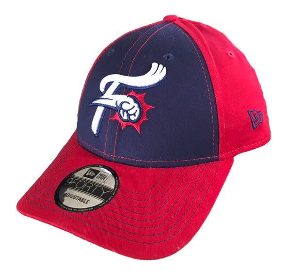 Reading Fightin Phils New Era 9Twenty  Navy / Red Clutch Hit Adjustable Cap