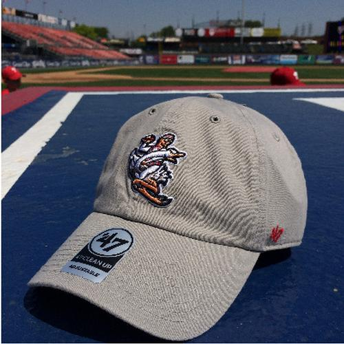 Reading Fightin Phils '47 Clean Up Crazy Hot Dog Vendor BP Hat