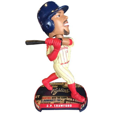 Reading Fightin Phils J.P. Crawford Bobble Head