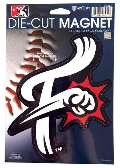 Reading Fightin Phils Large F-Fist Magnet