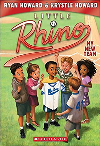 Little Rhino - A Children's Book by Former Reading Phillies Player Ryan Howard