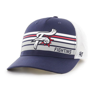 Reading Fightin Phils 47' MVP DP Adjustable Striped Fightins Cap