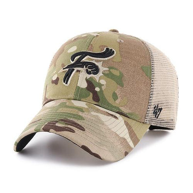 Reading Fightin Phils Fightins Military Camo Cap