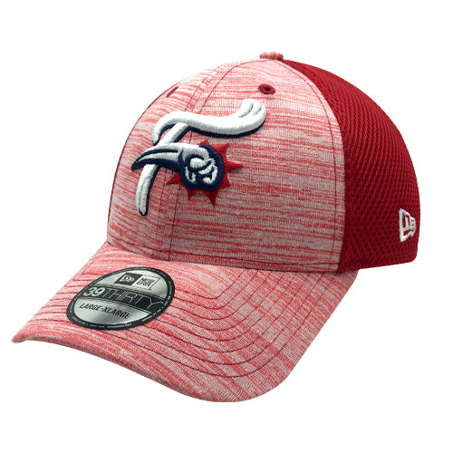 Reading Fightin Phils New Era Reading Fightins Tonal Tint Red Stretch Fit Cap
