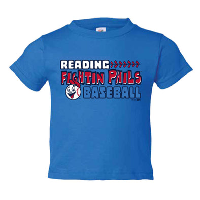 Toddler Royal Blue Reading Fightin Phils T-Shirt