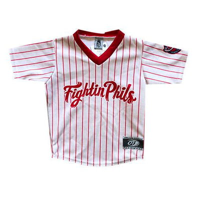 Reading Fightin Phils Toddler Home Pinstripe Jersey