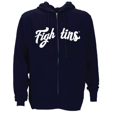 Navy Fightins Full Zip Hoodie