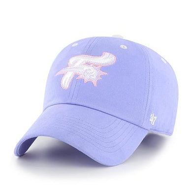 Reading Fightin Phils Youth '47 Clean Up Lavender F-Fist Cap