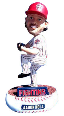 Reading Fightin Phils Aaron Nola Bobble Head