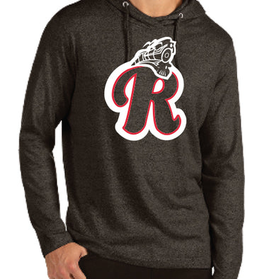 Back in Black R Train Hoodie