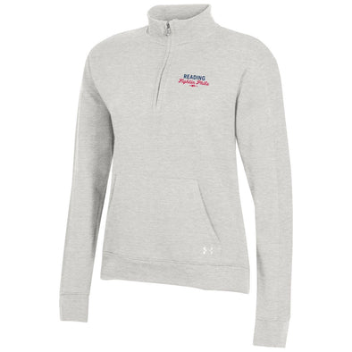 Silver Heather UA Fleece 1/4 Zip