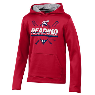 UA Youth Red Diamond Pullover Hoodie