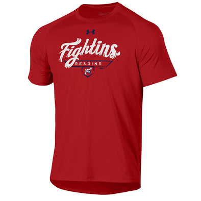 UA Red Fightins Tech Tee