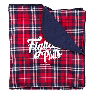 Plaid Fightin Phils Blanket