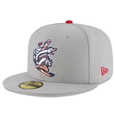 Reading Fightin Phils 59Fifty Crazy Hot Dog Vendor Batting Practice Hat