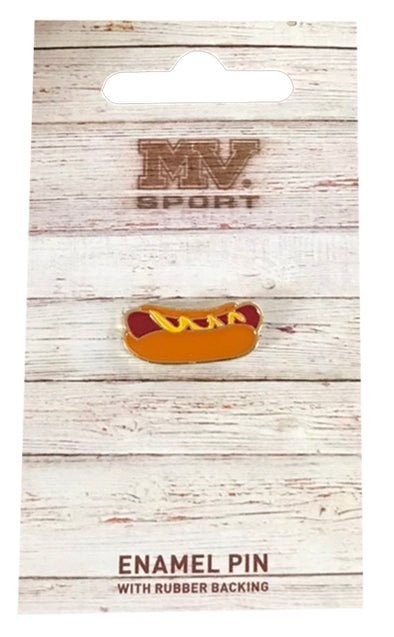 MV Sport Hot Dog Enamel Pin