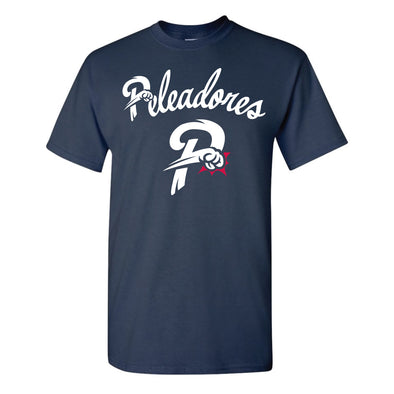 Los Peleadores de Reading Navy T-Shirt