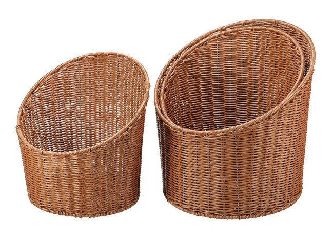 0GY11 Round Slanted Face Basket