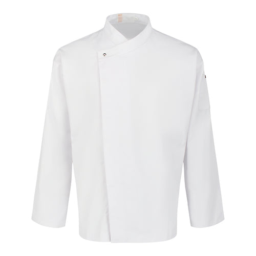 CU002 Chef Jacket Long Sleeve, White