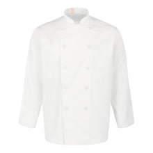 Load image into Gallery viewer, Chef Jacket Classic Long Sleeve, White