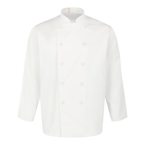 Chef Jacket Classic Long Sleeve, White