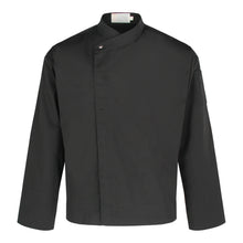 Load image into Gallery viewer, CU002 Chef Jacket Long Sleeve, Black