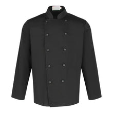 Load image into Gallery viewer, Chef Jacket Classic Long Sleeve, Black