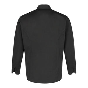 Chef Jacket Classic Long Sleeve, Black