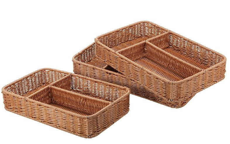 1G3 Woven Cutlery Tray
