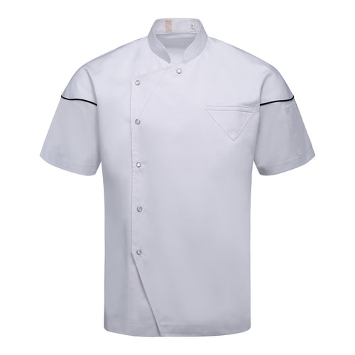 CU001 Chef Jacket Short Sleeve