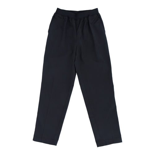 Chef Pants with Elastic Waist Band Black