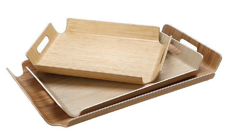 HL-88iN Wooden Tray with Handle