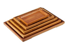 Load image into Gallery viewer, BBTT Bamboo Tea Tray, Rectangular