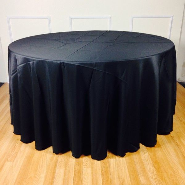 Table Cloth, 5 Feet Round Table, Polyester Full Drop (120