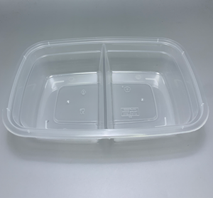Two Compartment Takeaway Box