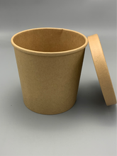 Load image into Gallery viewer, Craft Paper Soup Cup with Lid