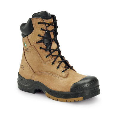 key features Men's 8 Inch Industrial Work Boots Steel Toe Composite Plated - Tan