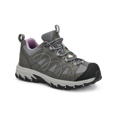 key features Women's Low-Cut Aluminium Work Boots Safety Toe Plated  - Grey