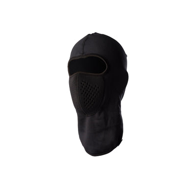 key features Fleece-Lined Wool Balaclava Insulating and Breathable Protection - Black