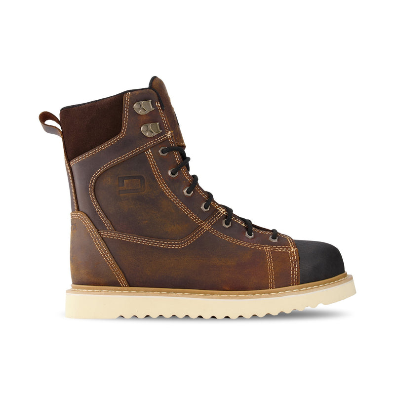 tan leather work boots