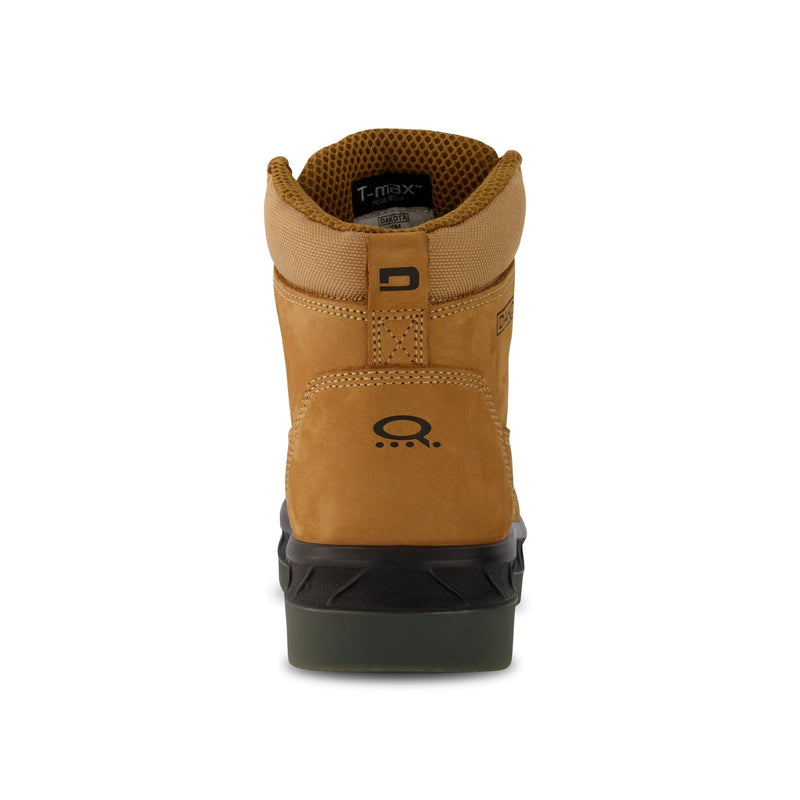 Men's 6518 6 Inch Safety Work Boot Steel Toe Plated - Tan