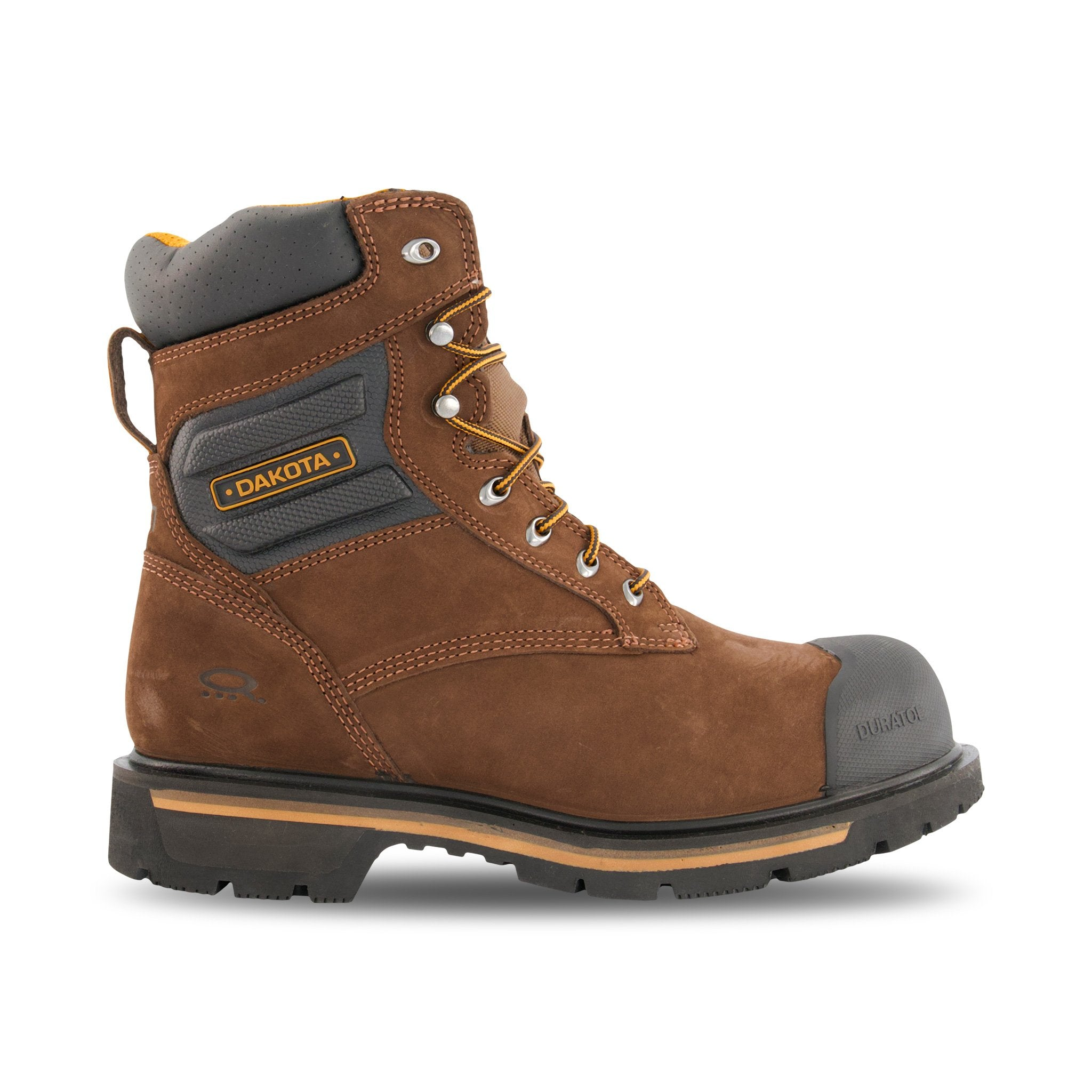 Men's 8 Inch Safety Work Boots Aluminum