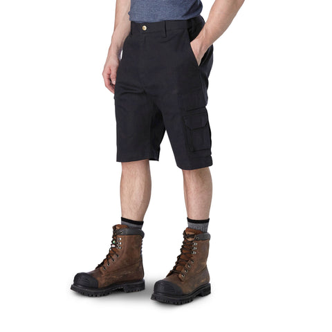 Men's FLEXTECH 360 Cargo Short with Stretch Twill - Black